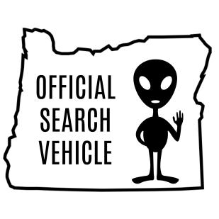 official search vehicle alien oregon antonio