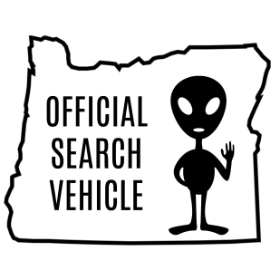 official search vehicle alien oregon antonio